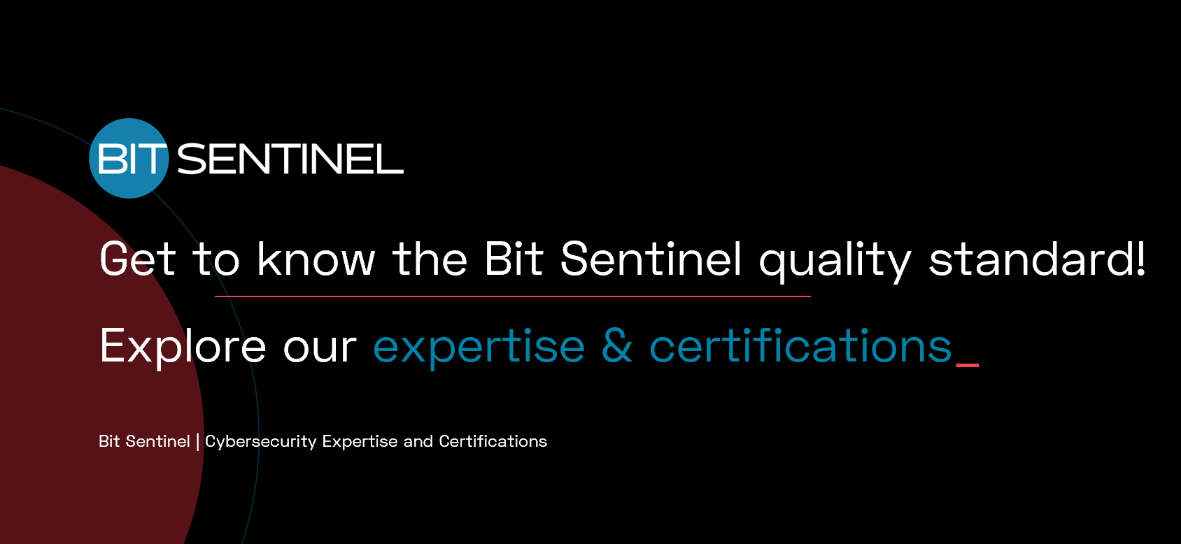 Cybersecurity Expertise and Certifications | Bit Sentinel