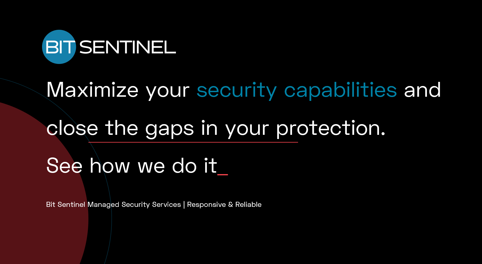 Managed Security Services | Responsive & Reliable | Bit Sentinel
